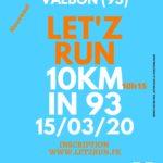 10KM LET'Z RUN IN 93